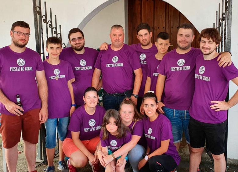 Camisetas para comisión de fiestas en Cantabria