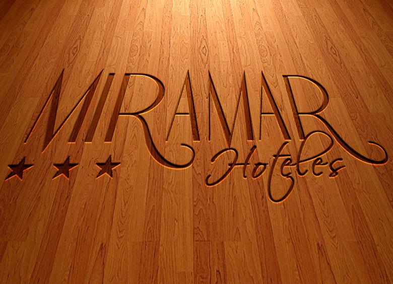 Logotipo para Hoteles Miramar en Cantabria