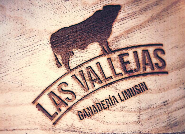 Logotipo para Ganadería LAS VALLEJAS