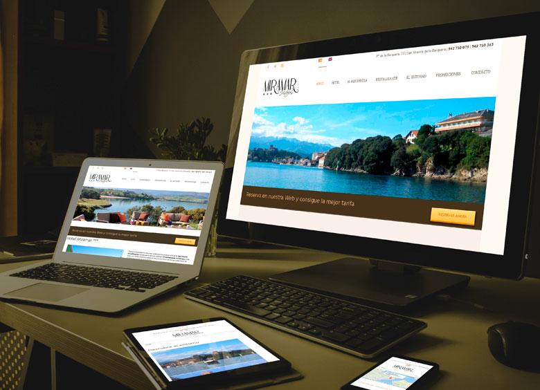 Diseño de página web en Cantabria